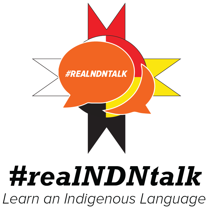 #realNDNtalk logo, brand extension of r/IndianCountry