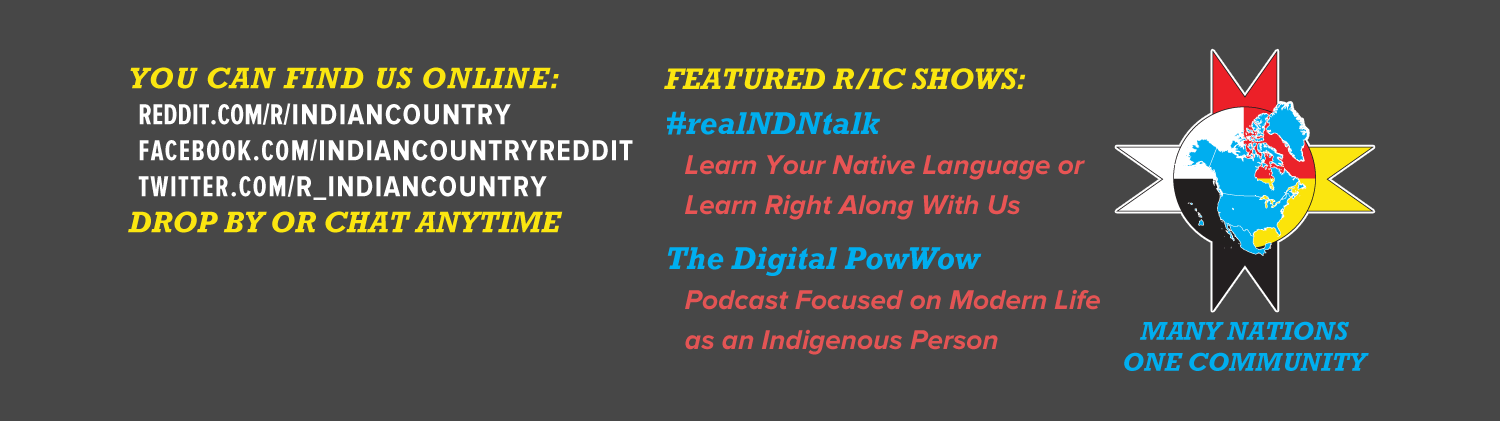 r/IndianCountry Twitter Banner