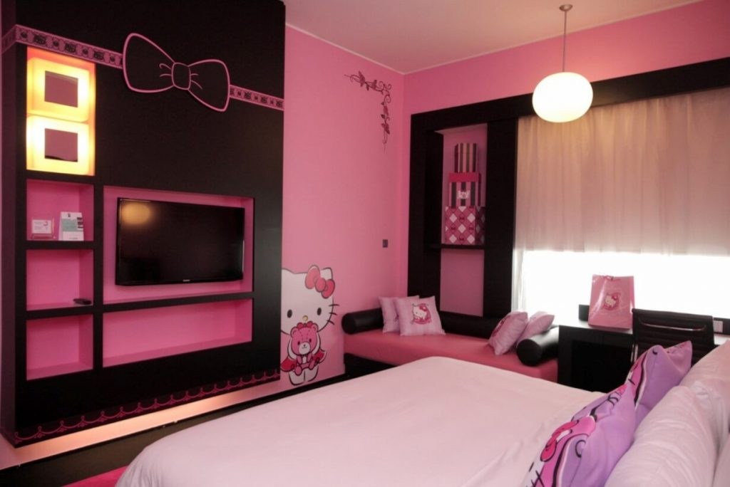 Wallpaper Hello Kitty Pink Cute 25 Adorable Hello Kitty Bedroom Decoration Ideas For Girls