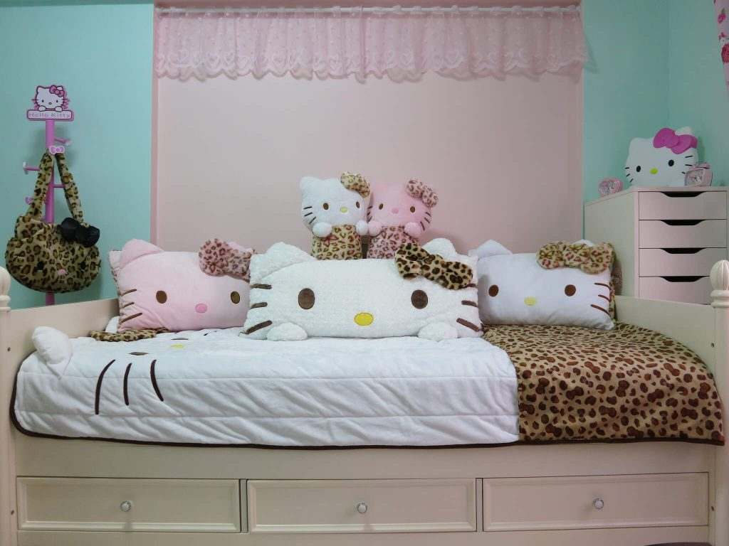 Photo Decoration In Room 25 Adorable Hello Kitty Bedroom Decoration Ideas For Girls