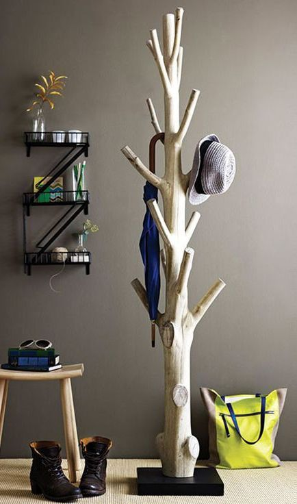 Baum Als Kleiderständer 19 Easy And Simple Diy Hat Rack Ideas For Your Sweet Home