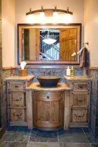 33 Best Picks of Rustic Bathroom Vanities