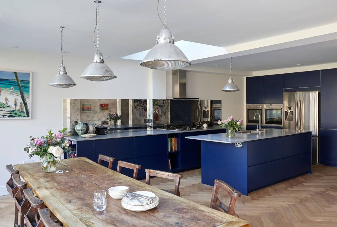 Blue In Kitchen 24 Blue Kitchen Cabinet Ideas To Breathe Life Into Your