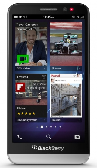 BlackBerry Z30 specifications, features and comparison