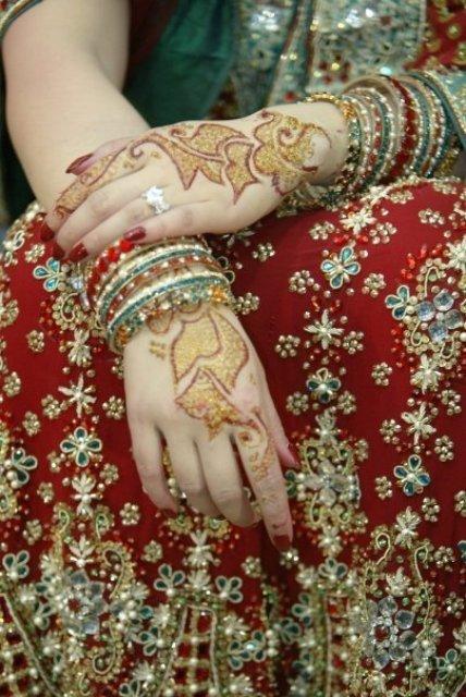 Mehndi Bridal Back Side : Bridal back side hands mehndi designs g