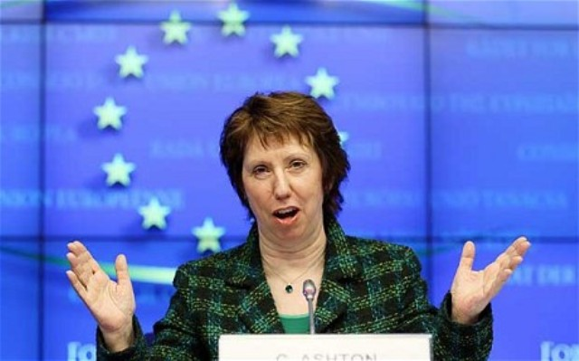 EU  Representative Catherine Condemned Peshawar Church Blast
