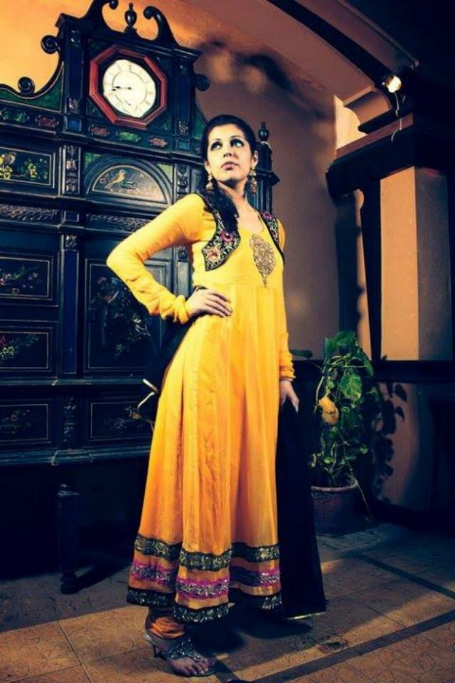 kanav by Sumanali party wear dresses