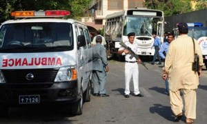Pakistan Navy captain Nadeem was martyred and his wife injured