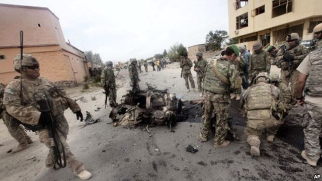 Afghan Militants Attack Kabul Foreign Compound