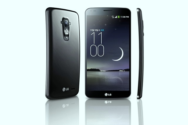 World's First True Curved-Screen Smartphone G Flex by LG