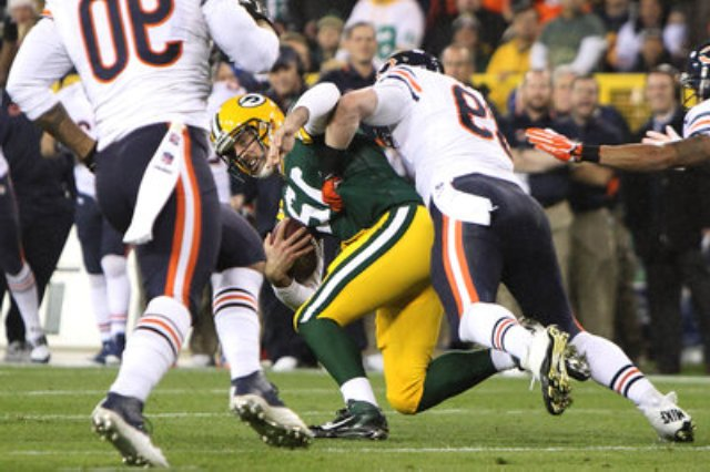 Aaron Rodgers has been ruled out from returning to Monday's game