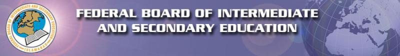 Federal Board Date Sheet for SSC Annual Examination (2014)