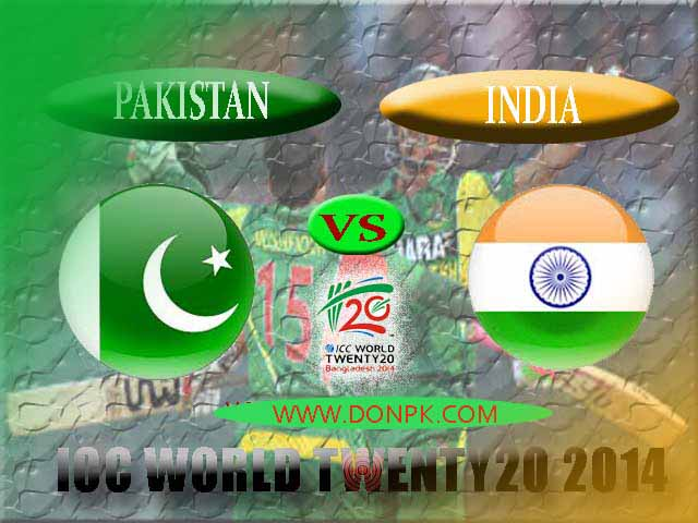 Pak Vs Ind T20 World Cup Live Scorecard 2014.Pak Vs ind 13th T20 Match Highlights 2014.Pakistan Vs India Group 2 1st T20 Match Live Telecast on PTV Sports and ESPN Star Sports.Watch Pakistan Vs India 13th T20 Match Live Streaming,Live ScoreCard,Toss Report,Weather Conditions,Pitch report and Highlights.e