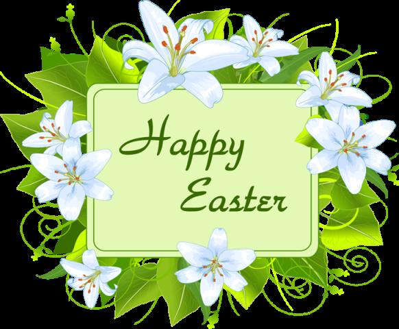 happy easter day flowers wallpapers