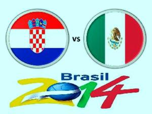 Croatia VS Mexico live FIFA World Cup Streaming 23 June 2014