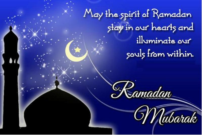 happy Ramadan chand mubarak english islamic poetry