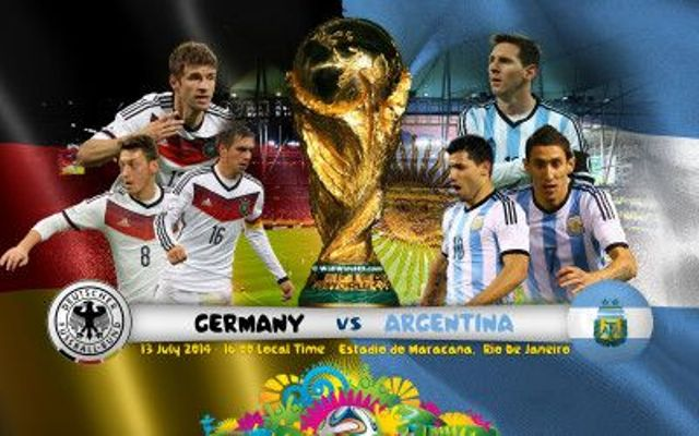 watch free live football final match germany vs Argentina