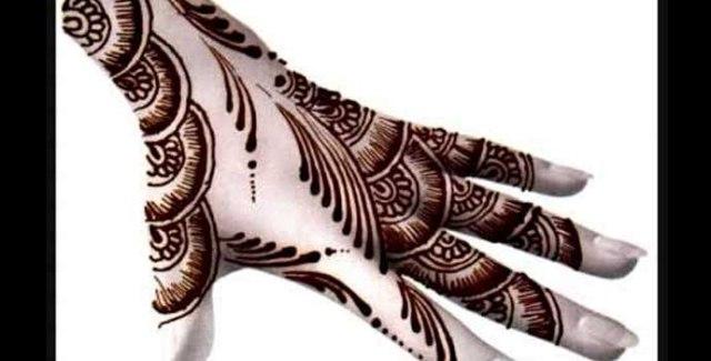 Latest & Beautiful Pakistani Mehndi Designs 2016