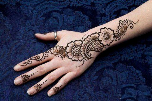 Top Eid-Ul-Fitr Mehndi Designs 2016 For Women