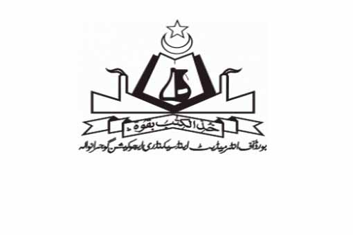 Gujranwala board 11th 12th Class Online supply Date sheet 2014