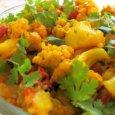 Aaloo Gobi Vegetable ( Potato Cauliflower Curry) Recipe in English