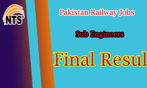 Sug Engineer (BPS-11) Final Result