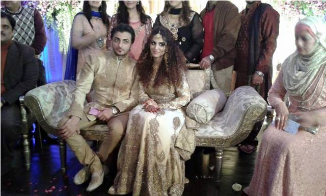 Annie Khalid marriage pictures with Saad Khan