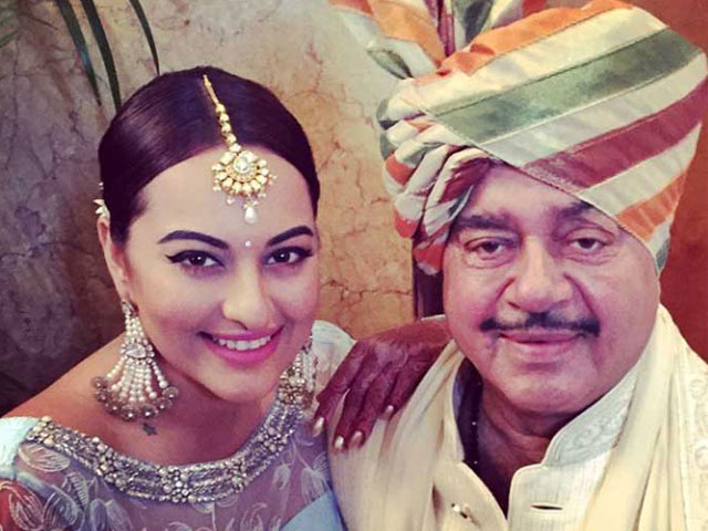 Shatrughan Sinha' s son wedding pictures