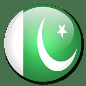 pakistan flag round pictures