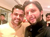 ahmed shahzad with shahid afridi marriage