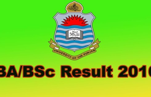 punjab University BA/BSC Annual result 2016