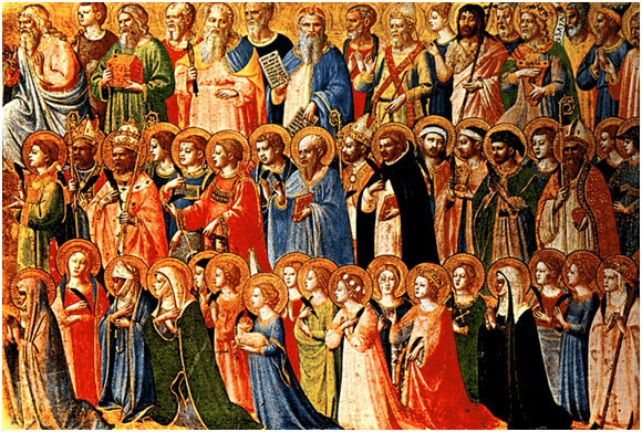 Saints in Scripture