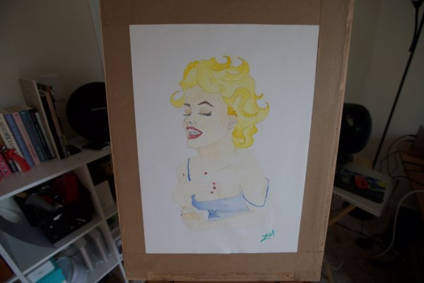 marilyn-almost-dry