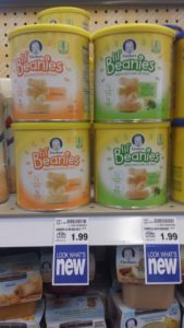 Gerber's Lil Beanies- Snacks for toddlers on the go