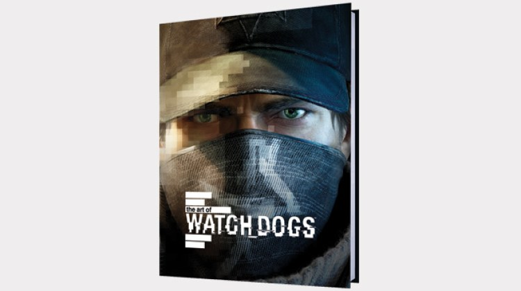art of watch dogs book cover