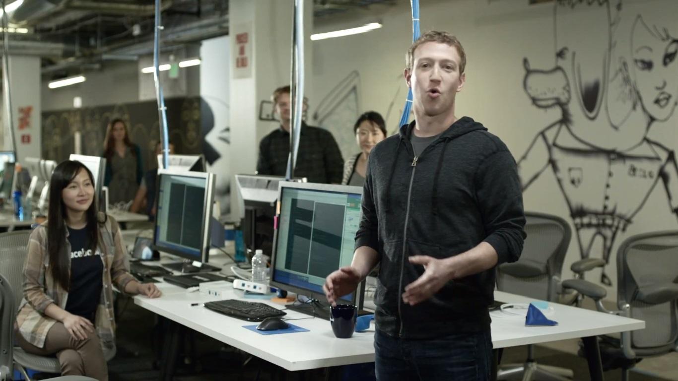 Fall Cabin Wallpaper Mark Zuckerberg S New Facebook Headquarter Makes Him