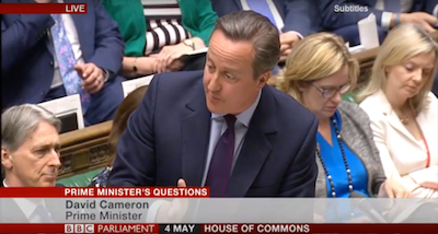 David Cameron Down's syndrome