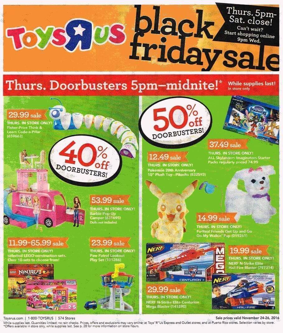Electric Garage Heater Black Friday Toys R Us Black Friday Ad Is Released