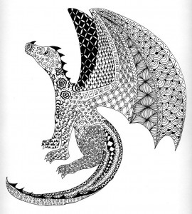 zentangle_dragon_by_kiuslady-d7a7mkt