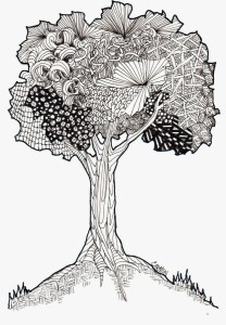 zentangle+tree