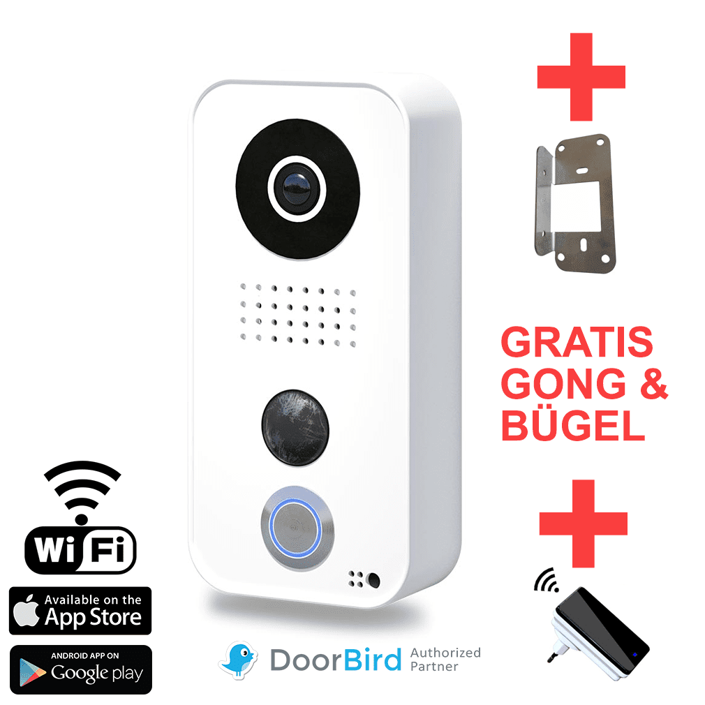 Türsprechanlage Wlan Fritzbox Ds6500 Doorbird D101 Internet Video Türsprechanlage Gratis