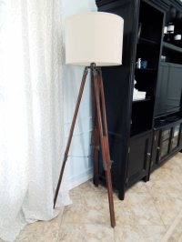 Diy Tripod Floor Lamp | www.imgkid.com - The Image Kid Has It!