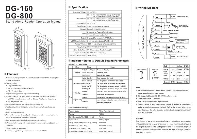 Gem Electric Strike Wiring Diagram - Somurich