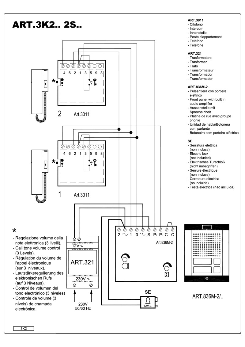 3m d20 intercom wiring diagram