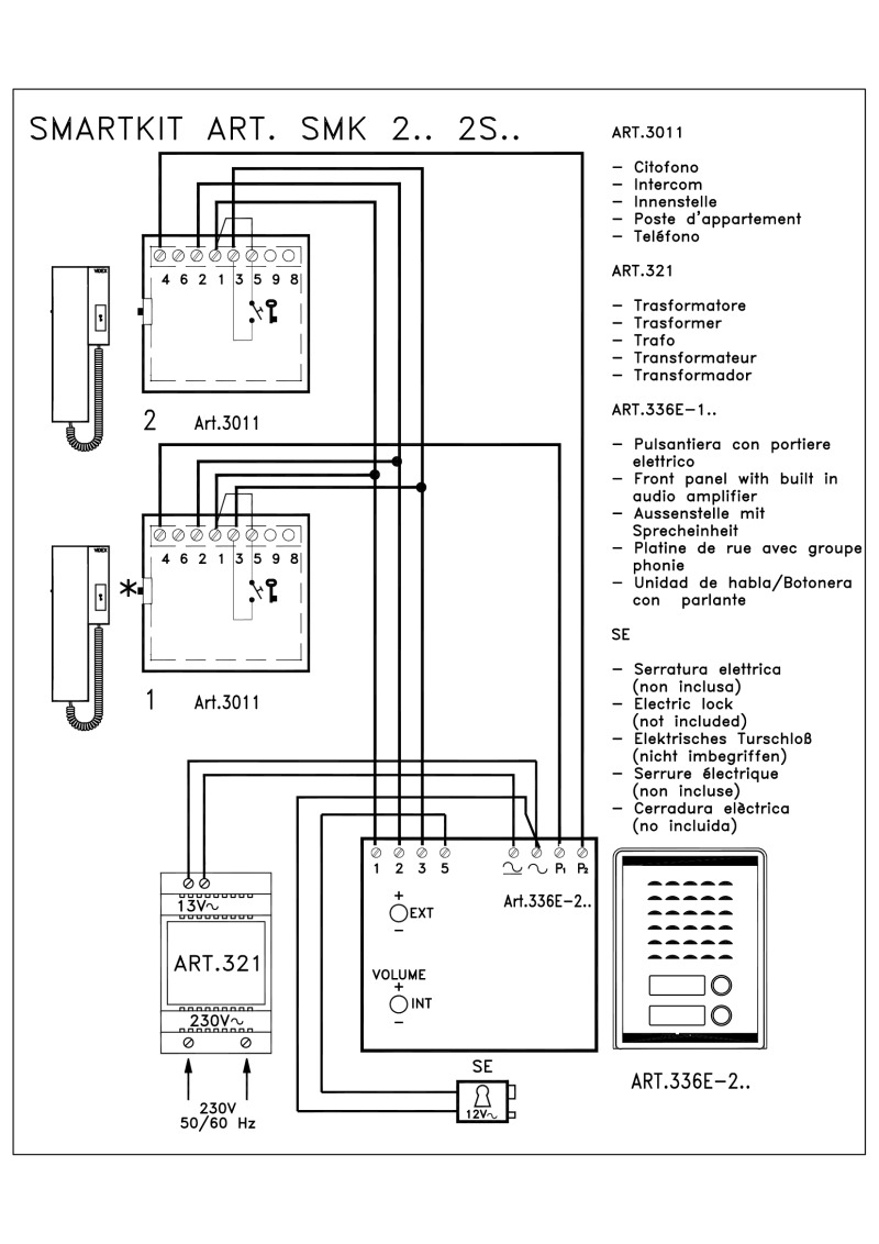 videx smart 1 wiring diagram