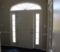 White painted six panel interior doors | Home Doors Design ...
