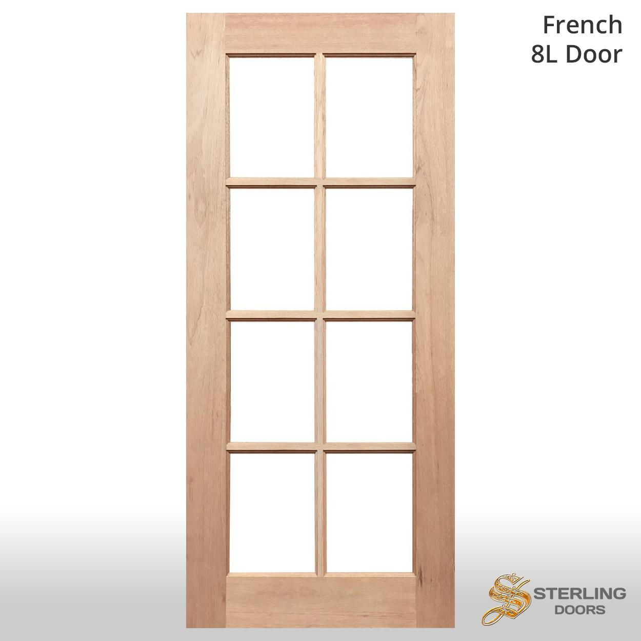 Timber Glass Doors French Doors French 8l Solid Timber Door