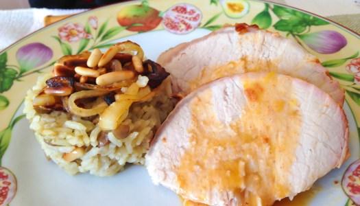 Carré de Lombo com Arroz de lentilha – Receita para a ceia de Natal