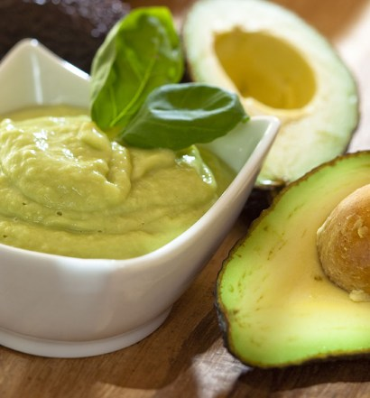 Mousse de Abacate, Cacau Orgânico, Chia e Canela