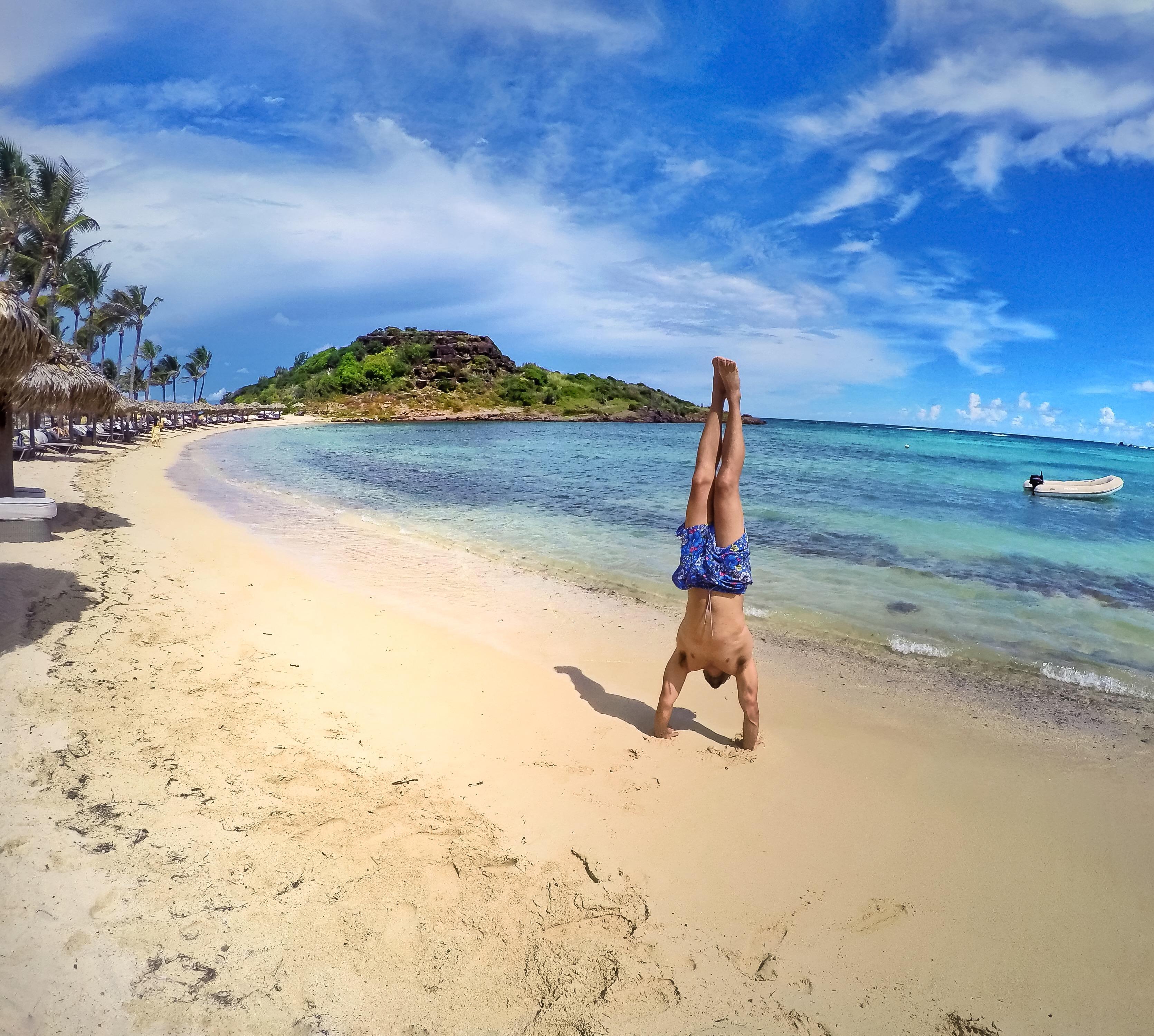 Praia do Le Guanahani